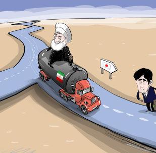Íránská ropa jede do Japonska