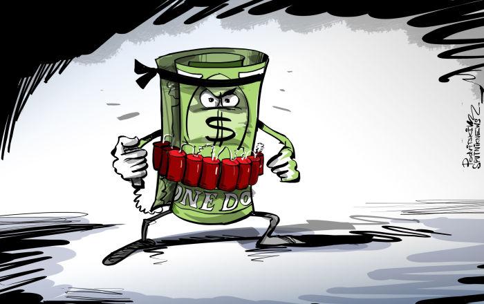 USA páchají sebevražedný dolarový útok