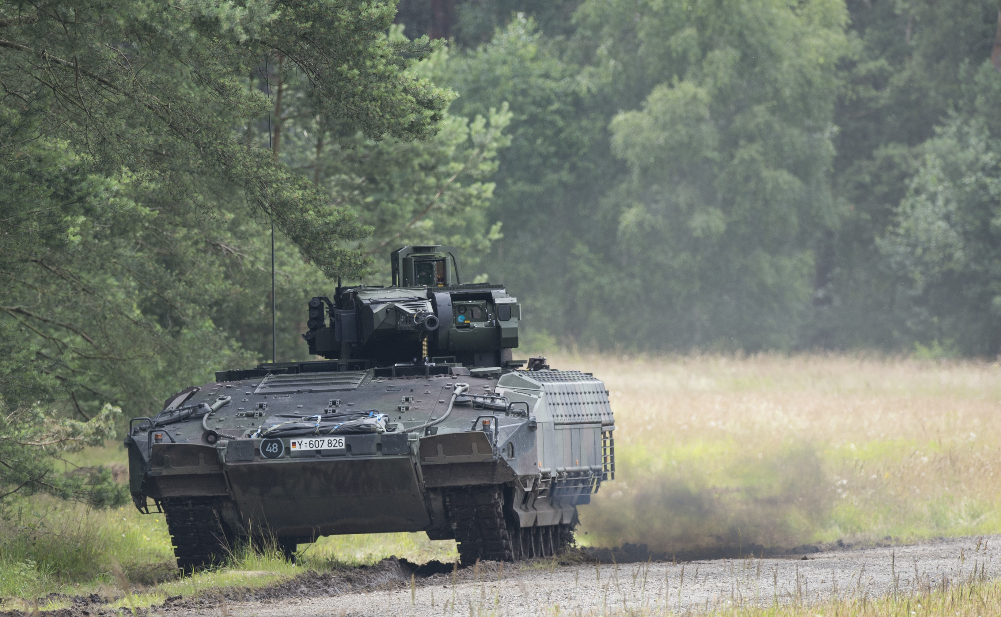 Nejnovější německé pěchotní bojové vozidlo Puma