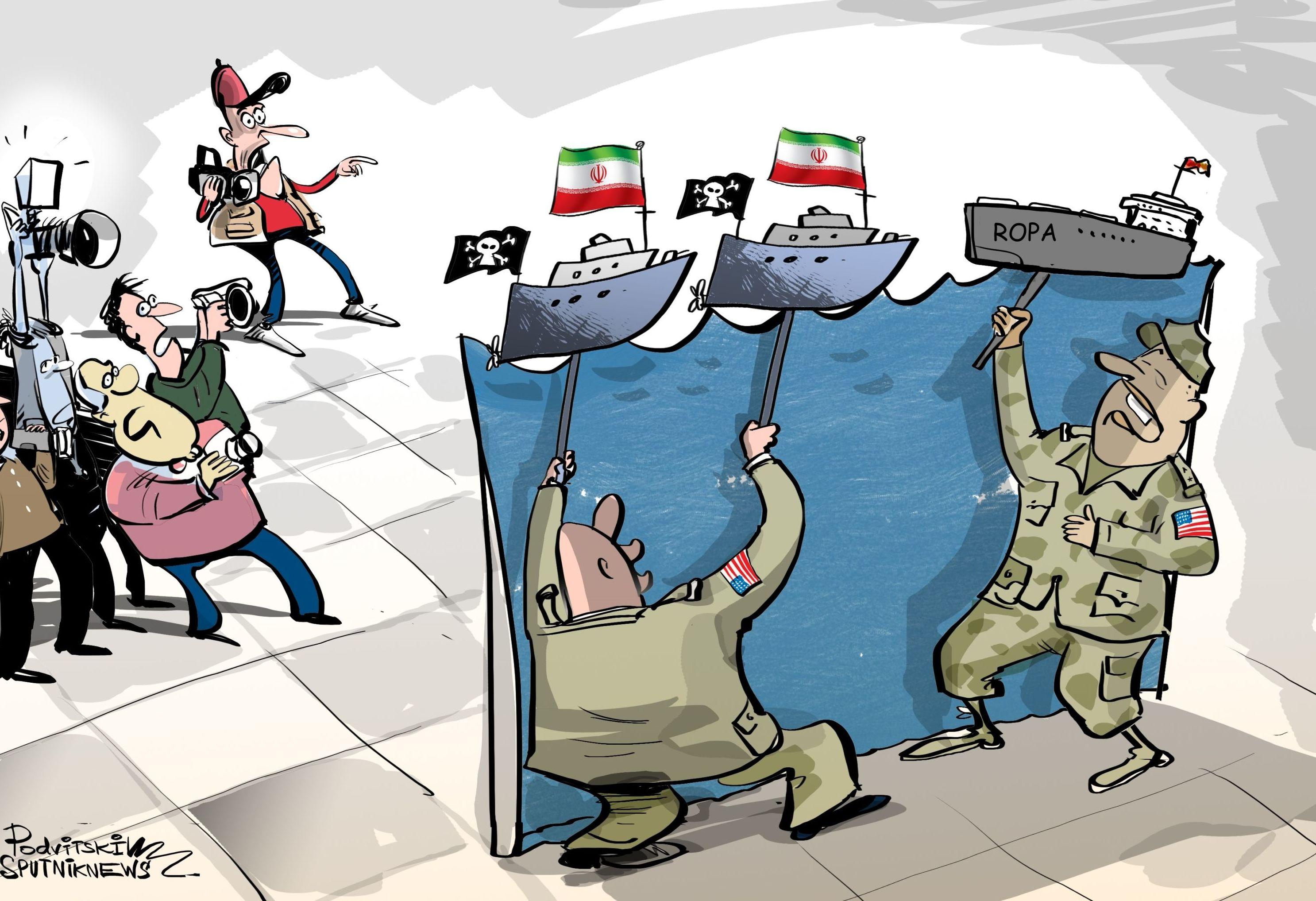 Američané vždy poukazují na účast Íránu.