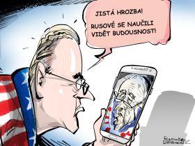 Jistá hrozba! Rusové se naučili vidět budoucnost!