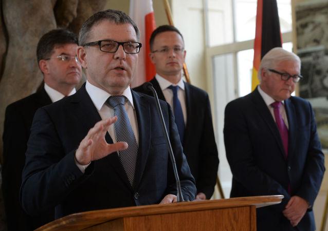 Člen Poslanecké sněmovny Parlamentu ČR a předseda zahraničního výboru Lubomír Zaorálek