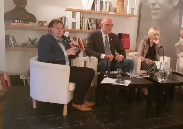 Andrej Zubov, Andrzej Nowak, Tatjana Tönsmeyerová, Michael Žantovský