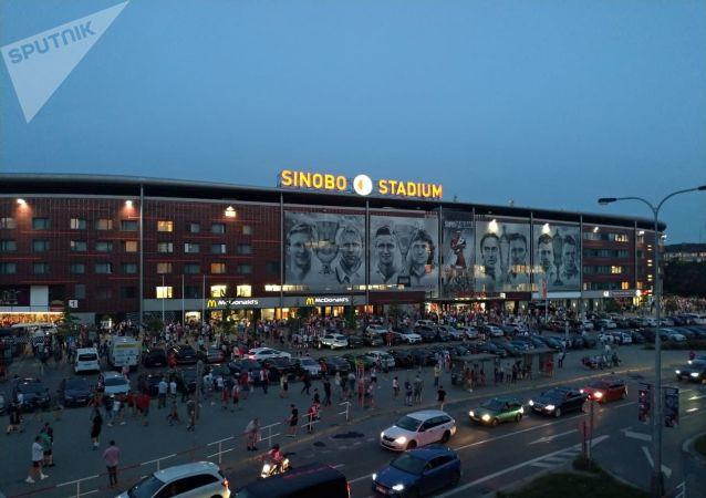 Sinobo Stadium v Praze