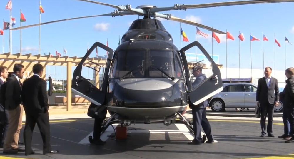 Video: Nový luxusní vrtulník ve stylu ruských limuzín Aurus na mezinárodním leteckém salonu Maks 2019