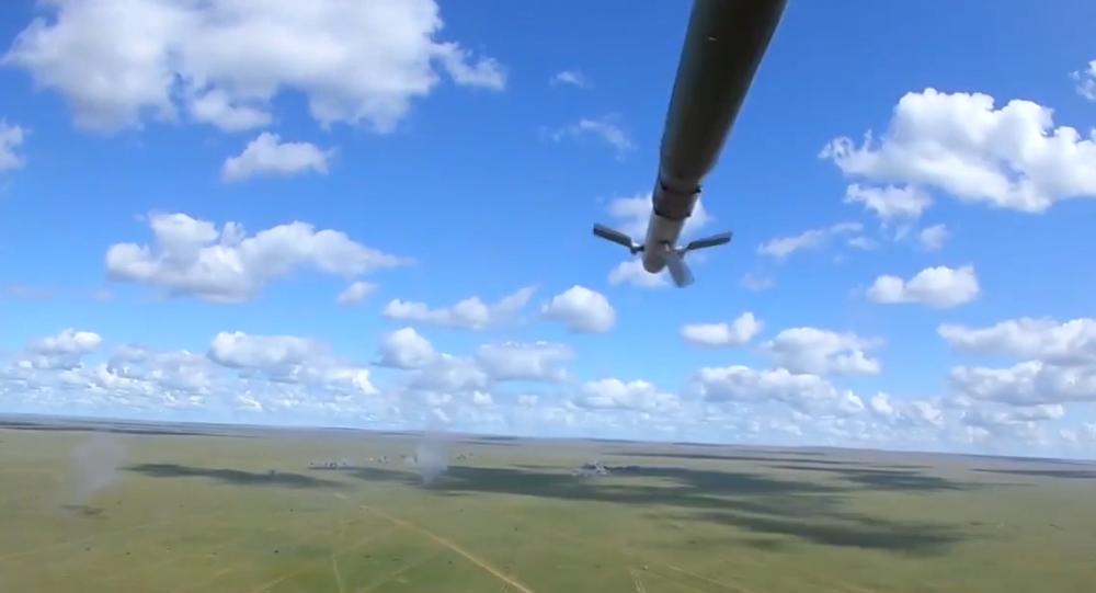 Video: Finální střelby. Aktivní fáze cvičení Selenga-2019 vyvrcholila rozsáhlými střelbami ruských a mongolských vojáků