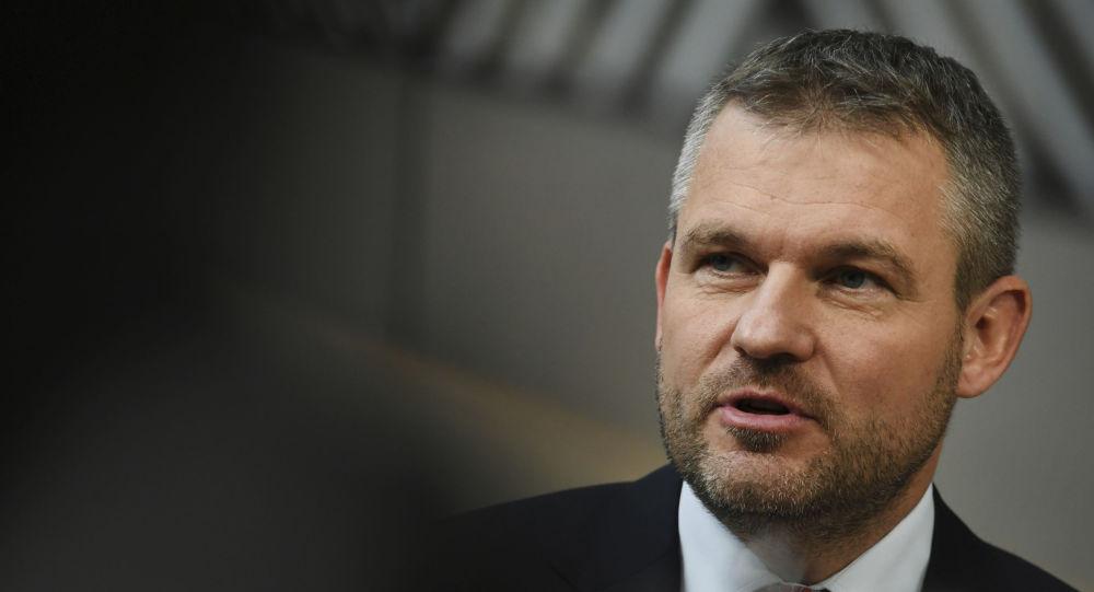 Slovenský premiér Peter Pellegrini