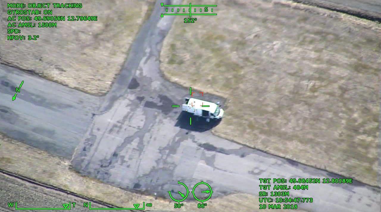 Ukázka z kamery dronu One 150. Primoco UAV