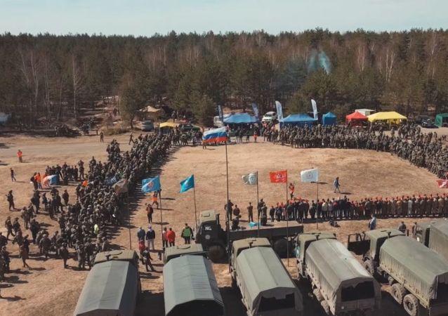 Podívejte se na unikátní vojenské taktické hry v Rusku, zahrát si může kdokoliv