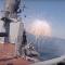 Video: Působivé záběry vojenské kolaborace letounů a raketových lodí během vojenských cvičení Centr-2019