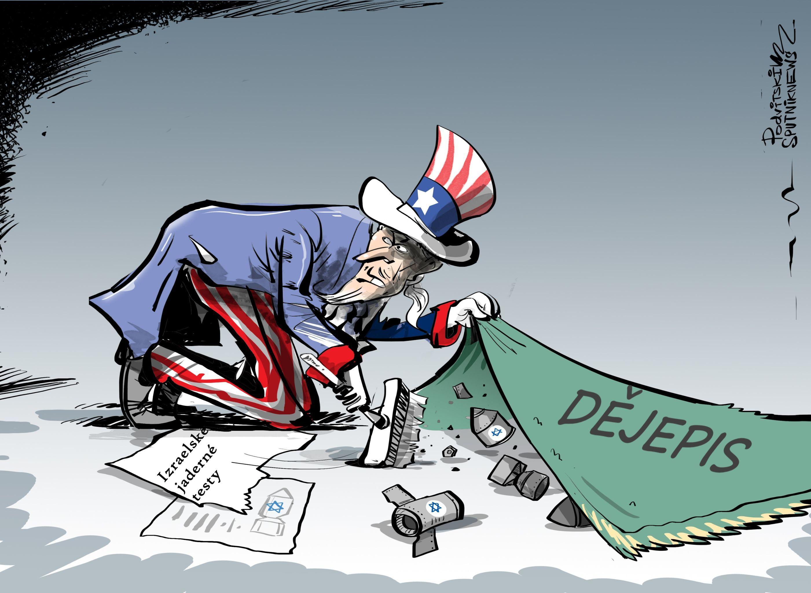 Tajemství vyplouvá na povrch: Amerika tajila jaderné testy Izraele