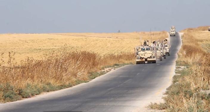 Video: První záběry stažení vojenských jednotek a vozidel USA ze Sýrie po prohlášení Bílého domu