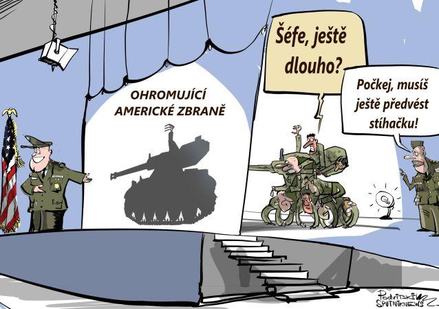 Ohromující americké zbraně