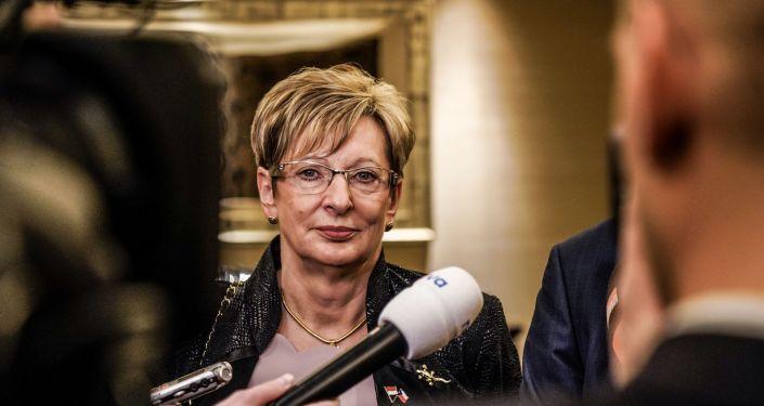Ministryně obchodu a průmyslu Marta Nováková