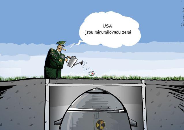 USA jsou mírumilovnou zemí