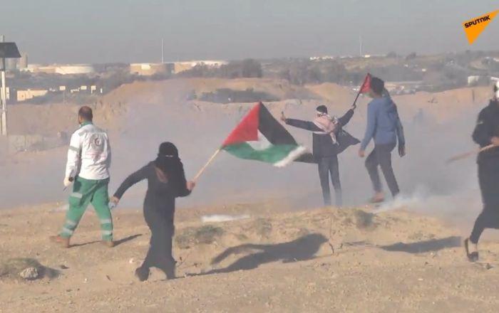 Šokující video! Krutý útok Izraele: 13 zraněných při námořním protestu v Pásmu Gazy