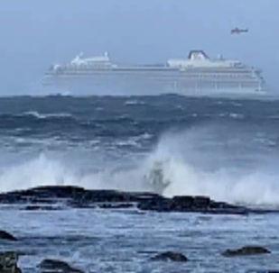 Havárie lodě poblíž Norska. Jak vypadala katastrofa očima pasažérů