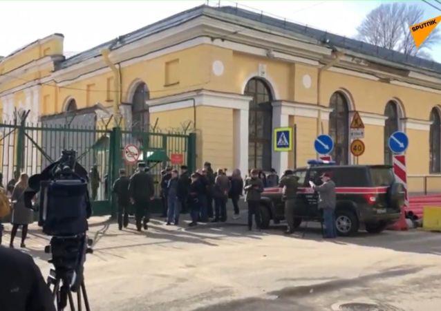 V Rusku byli tři lidé zraněni výbuchem ve Vojenské akademii v Petrohradu