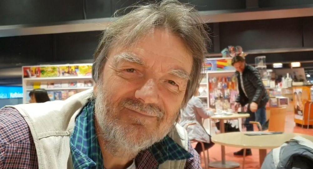 Známý český folkový zpěvák Pepa Nos