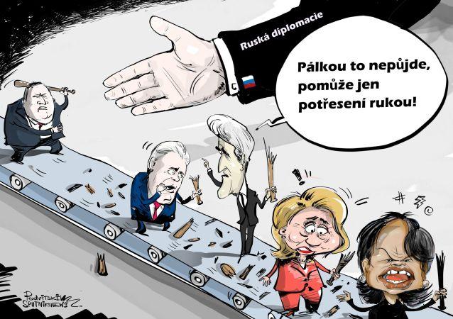 Všechno se mění… kromě Lavrova