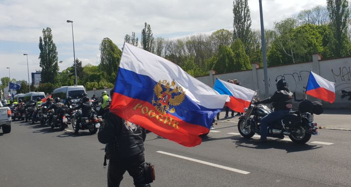 Noční vlci v Praze, 5. května 2019