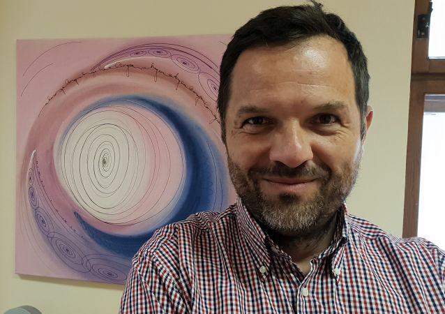 Antonín Baudyš, astrolog a komentátor veřejného dění.