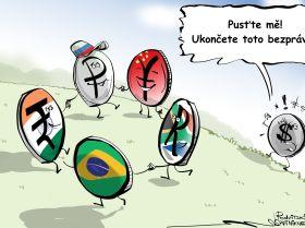Platby mezi státy BRICS v národních měnách podkopávají pozice dolarů