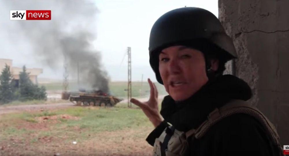 Na americkou novinářku v Sýrii stříleli z tanku