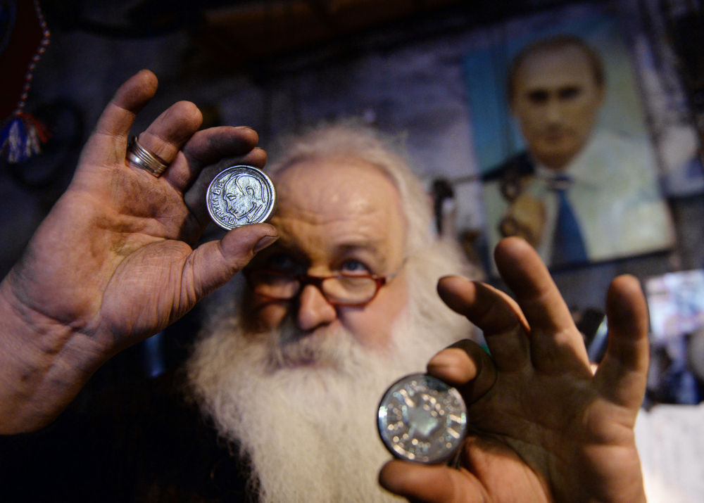 """Podle svých slov, mistr vybral Putina proto, že to je """"chlap klidný, spolehlivý a jiné varianty neexistují""""."""