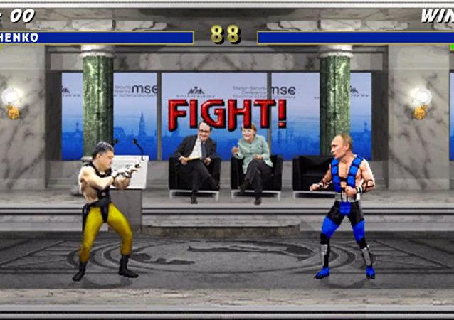 Mortal Kombat: Porošenko vs Putin
