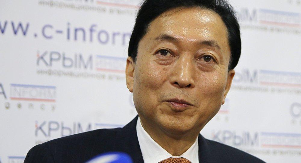 Bývalý japonský premiér Yukio Hatoyama