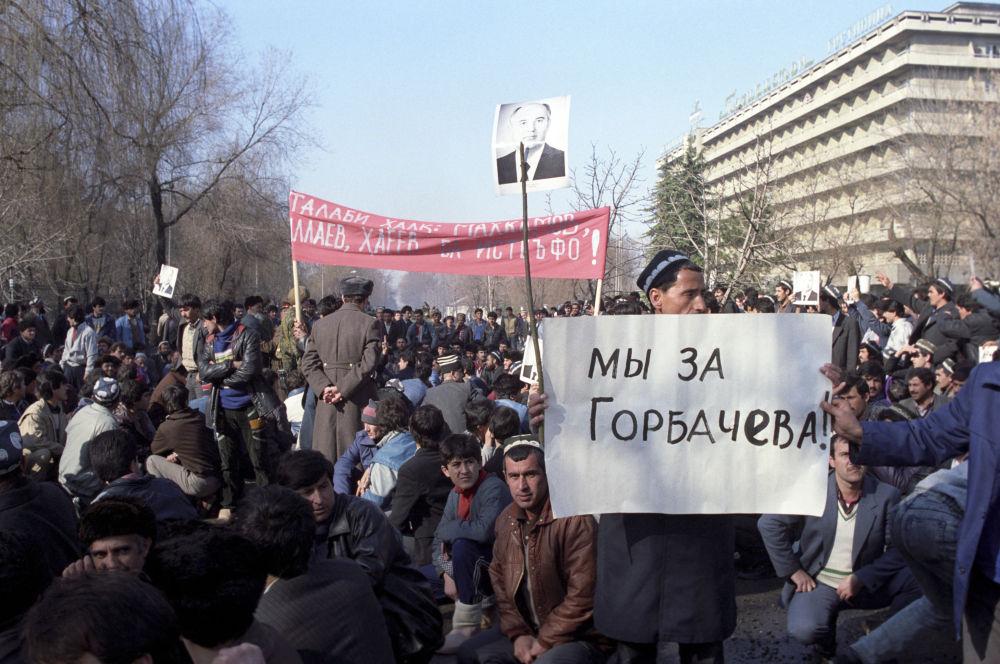 Perestrojka: SSSR v letech 1985-1991