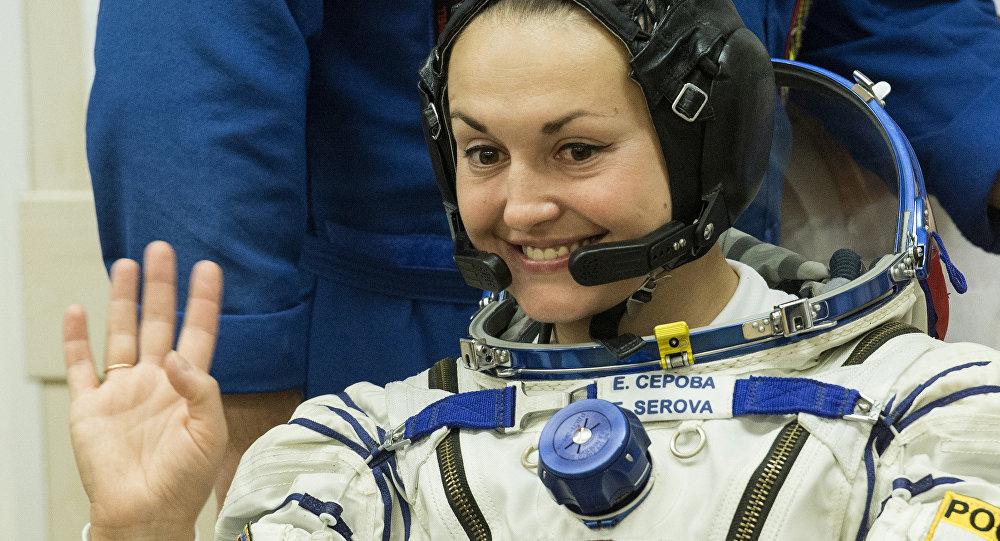 Ruská kosmonautka Jelena Serovová