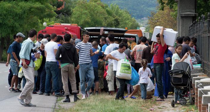 Rakouský tábor pro uprchlíky