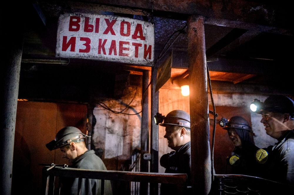 Horníci Donbasu během války