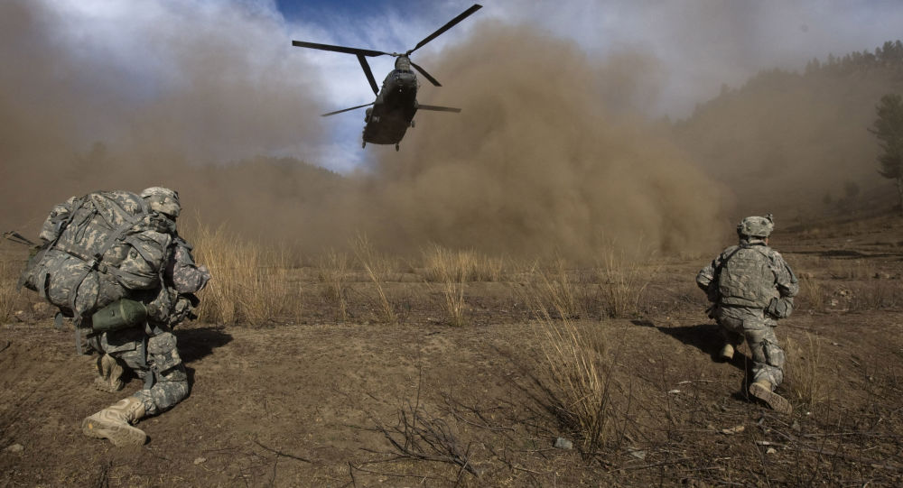 Vrtulník CH-47 Chinook amerického letectva
