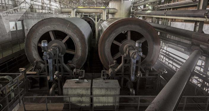 Těžba železné rudy. Ilustrační foto