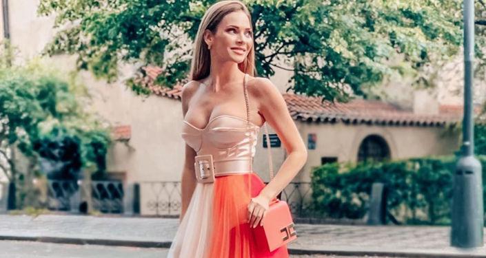 Modelka Andrea Verešová