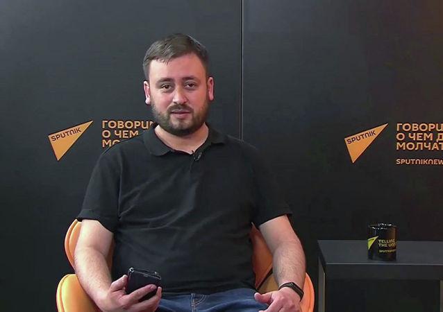 Šéfredaktor Sputniku Litva Marat Kasem