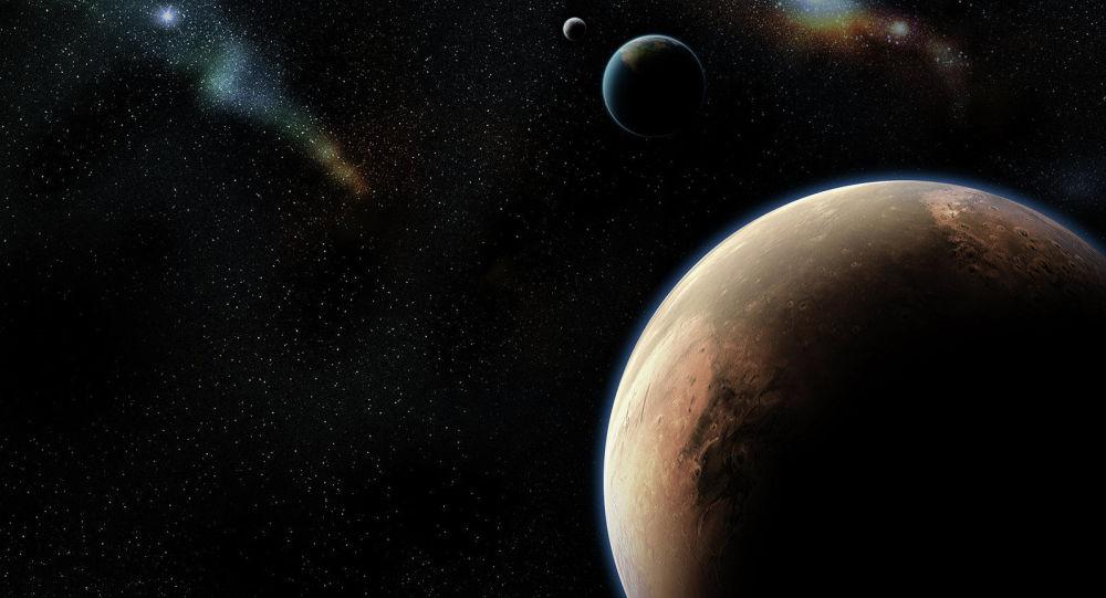 Země a Mars