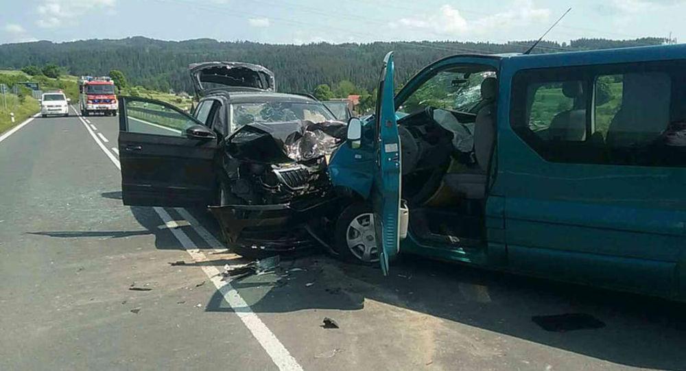 Dopravní nehoda. Spišská Belá, Slovensko