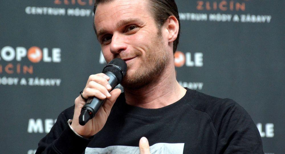 Český showman, moderátor a zpěvák Leoš Mareš