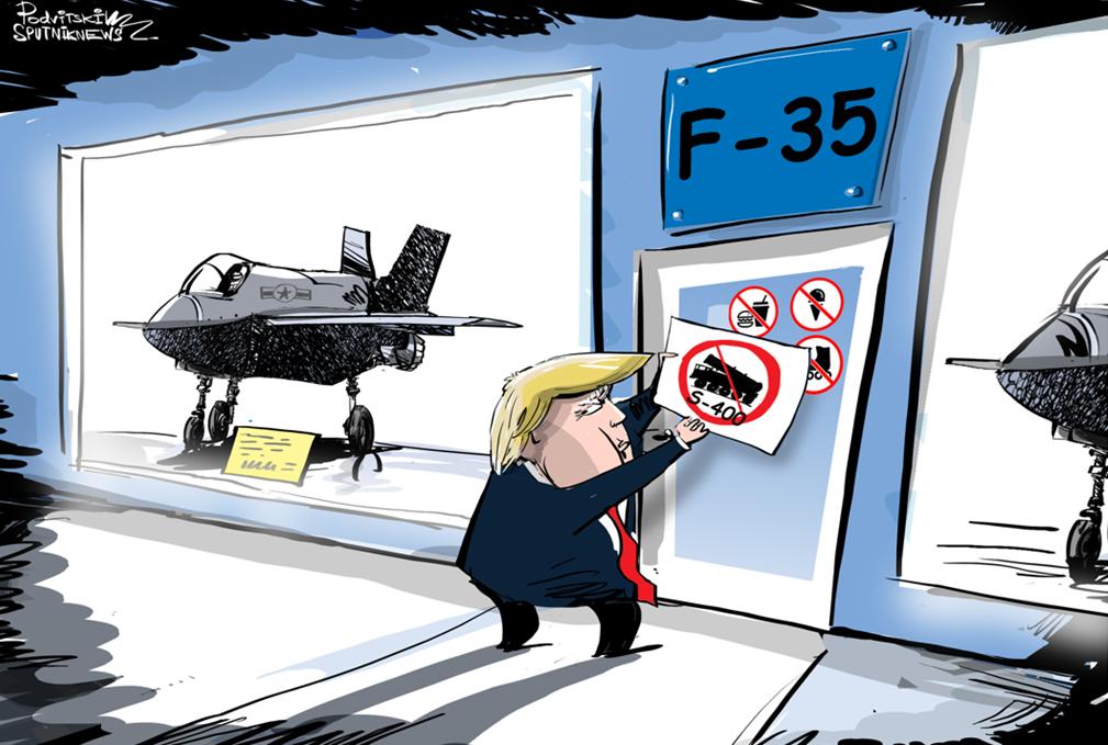 Vstup s ruskými systémy zakázán
