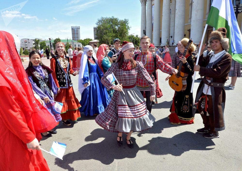 Tance v Čeljabinsku.