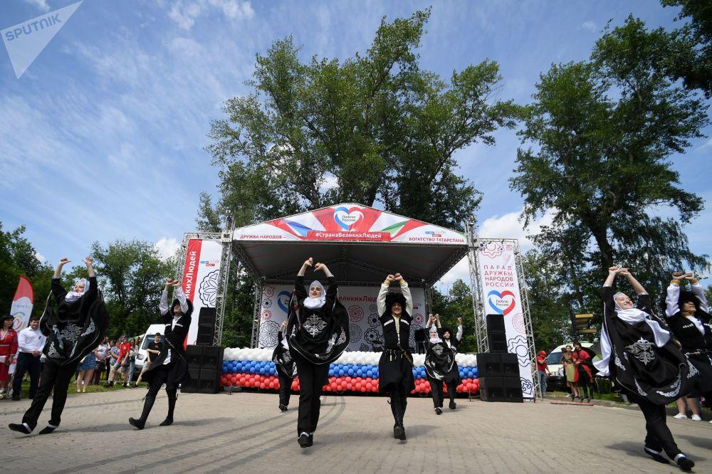 Oslavy v Kazani.