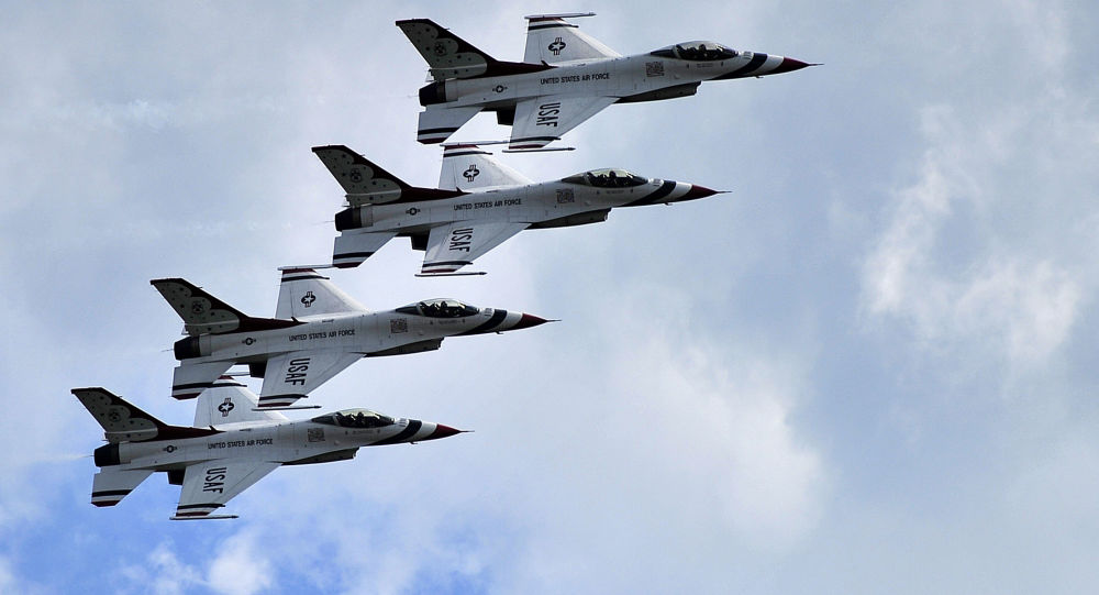 Stíhačky F-16 americké armády