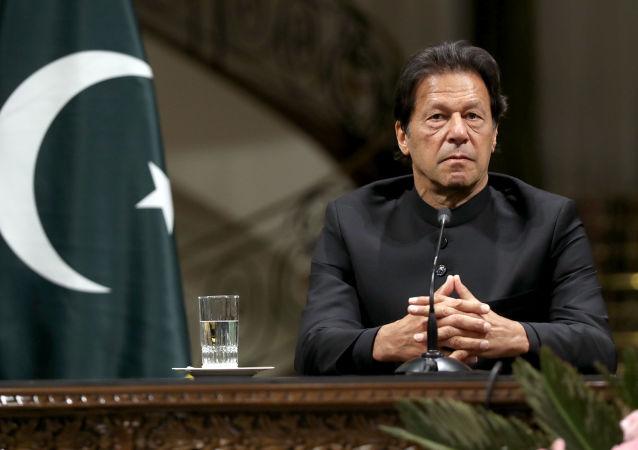 Pákistánský premiér Imran Chán