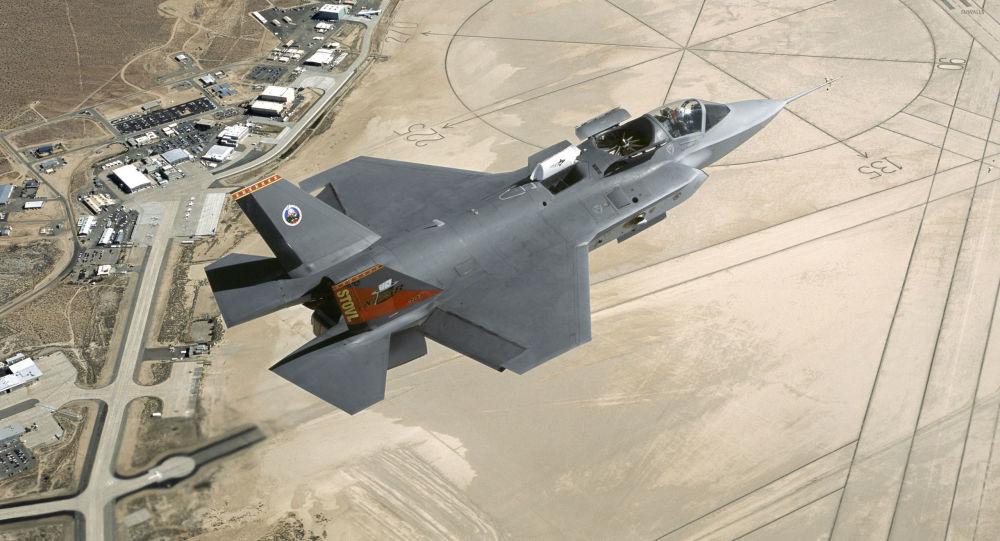 Americká stíhačka F-35 Lightning II