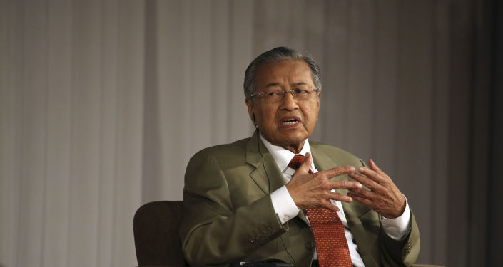 Premiér Malajsie Mahathir Mohamad