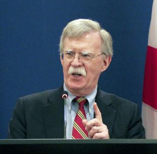 Poradce amerického prezidenta pro bezpečnost John Bolton
